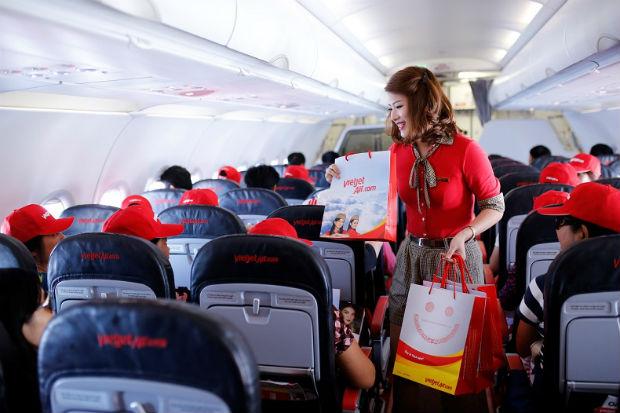 Lựa chọn chỗ ngồi Vietjet Air