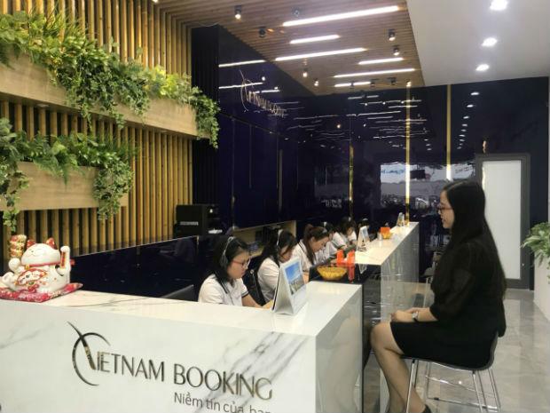 Văn phòng  đặt mua vé máy bay Vietjet Air tại TPHCM
