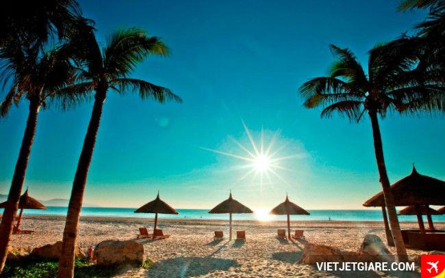 Bài biển mỹ kê- mua vé máy bay giá rẻ đi đà nẵng của Vietjet