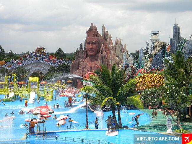 Khu du lịch Suối Tiên - Địa điểm ghé thăm khi bay đến Sài Gòn TP HCM