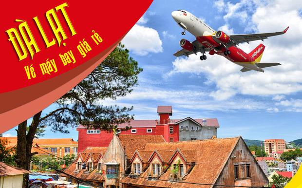 Đặt vé máy bay đi Đà Lạt Vietjet Air