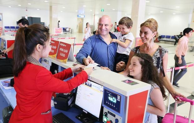 Những điều cần chú ý khi check in vé máy bay Vietjet