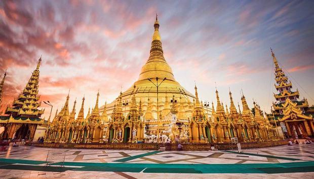 Chùa Shwedagon - Kiệt tác kiến trúc cổ kính Myanmar