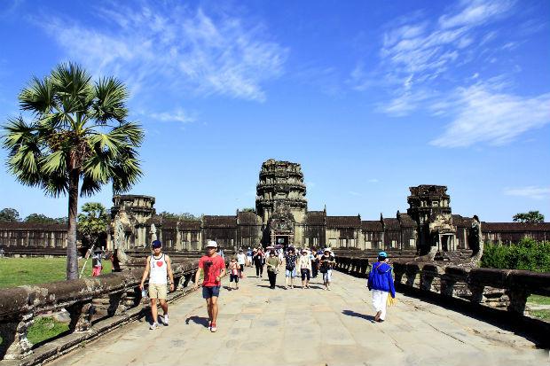 săn vé giá rẻ đi Siem Reap