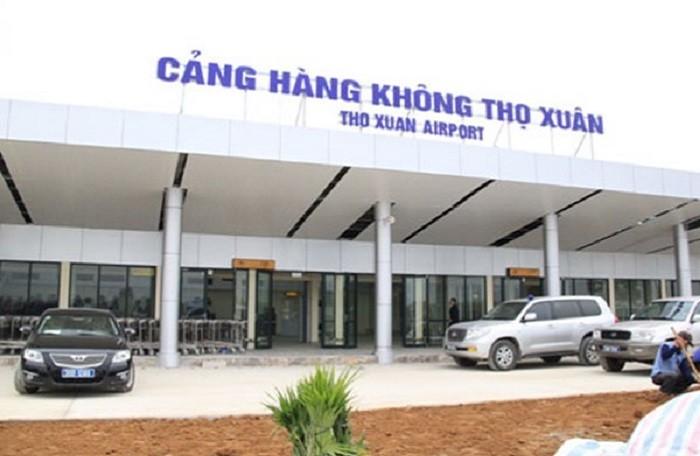 Toàn cảnh cảng hàng không Thọ Xuân Thanh Hóa