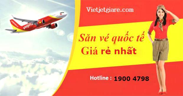 săn vé giá rẻ quốc tế Vietjet