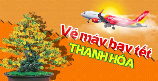 Máy bay Vietjet đưa bạn về quê hương xứ Thanh đoàn viên gia đình dịp Tết