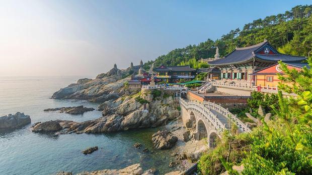 Đền cổ Haedong Yonggungsa - kiệt tác kiến trúc xứ Hàn