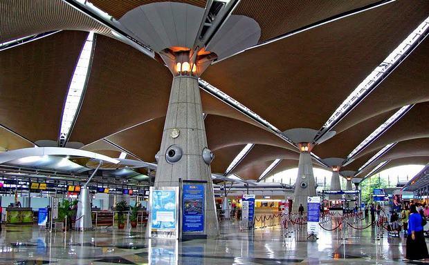 Sân bay quốc tếKuala Lumpur hiện đại và rộng lớn