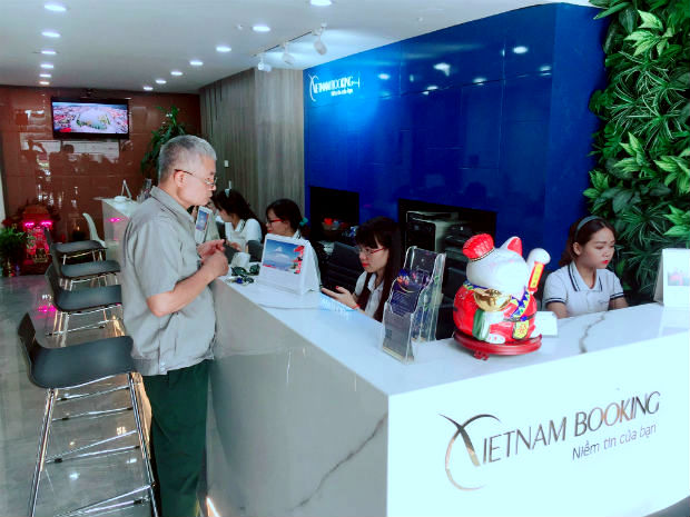 Chi nhánh đặt vé máy bay giá rẻ Vietjettại TPHCM