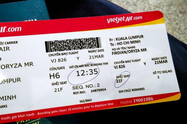 Điều kiện hoàn vé Vietjet