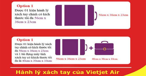 Hành lý Vietjet Air