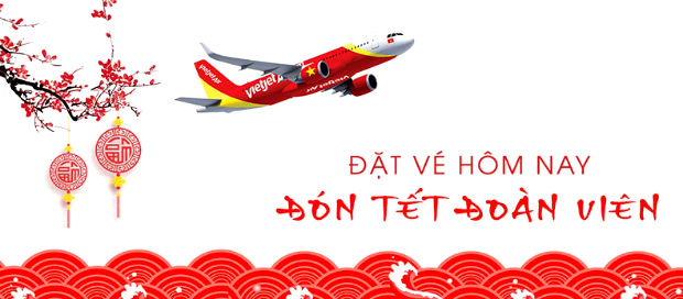Vé máy bay Tết về Bình Định