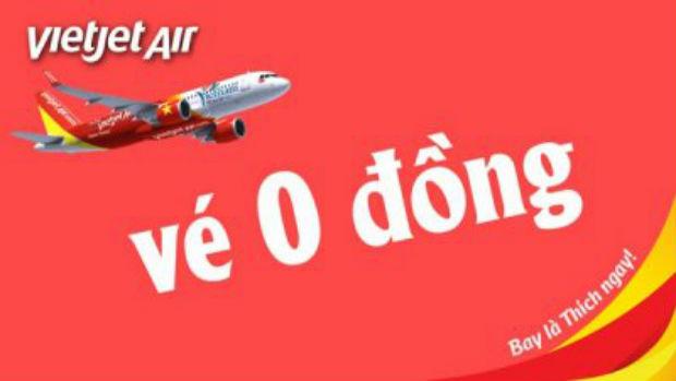Kinh nghiệm săn vé máy bay giá rẻ Vietjet