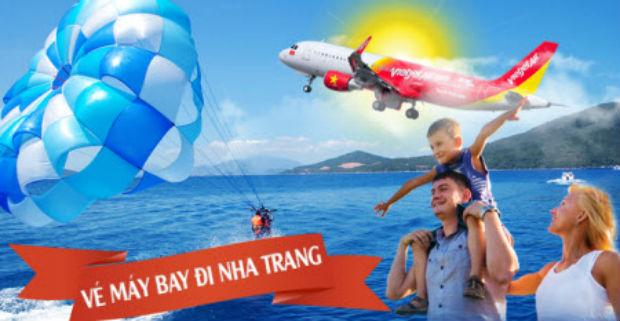 Mua vé máy bay đi Nha Trang khứ hồi