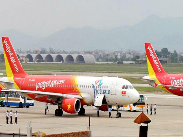 Giá vé máy bay Hà Nội đi Sài Gòn Vietjet Air