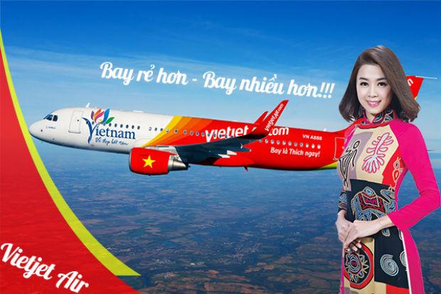 Vé máy bay Tuy Hòa đi Sài Gòn Vietjet