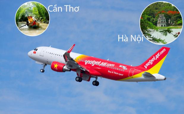 Lịch bay Hà Nội Cần Thơ Vietjet chi tiết nhất