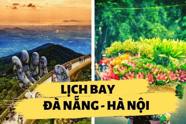 Lịch bay Đà Nẵng đi Hà Nội Vietjet