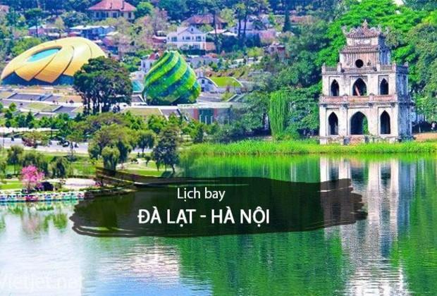 Mua vé máy bay Đà Lạt đi Hà Nội