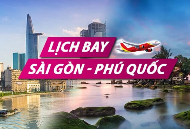 Vé máy bay Sài Gòn đi Phú Quốc Vietjet