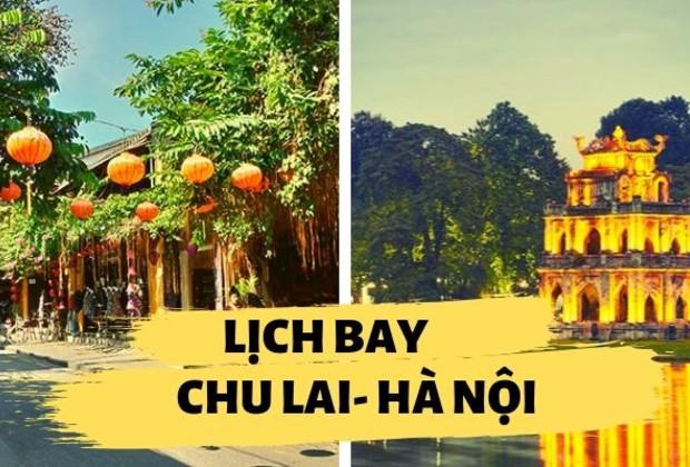 Đặt vé máy bay Chu Lai đi Hà Nội