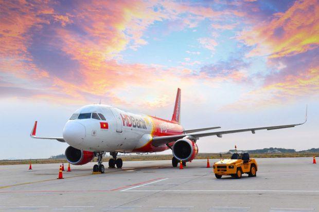 đại lý vé máy bay Vietjet