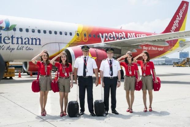 Hãng hàng không giá rẻ Vietjet Air