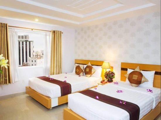 Phòng gia đinh Khách sạn A25 13 bùi Thị xuân