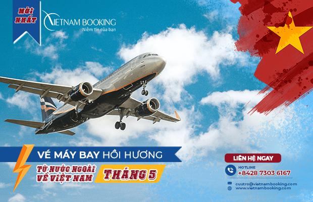 chuyến bay từ Nga về Việt Nam