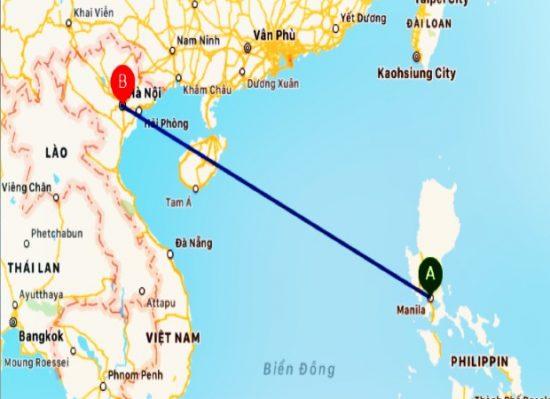 chuyến bay từ Việt Nam đi Philippines